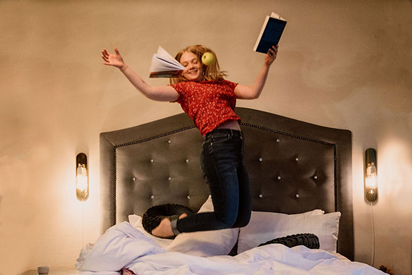 Bed and study. Foto: Joel Andersson